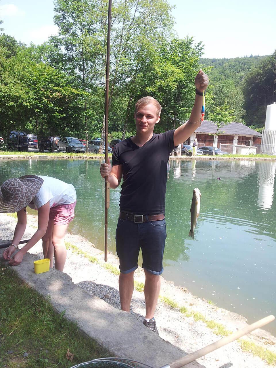 Agenturausflug Fischen