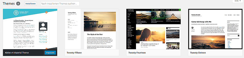 WordPress CMS Themes