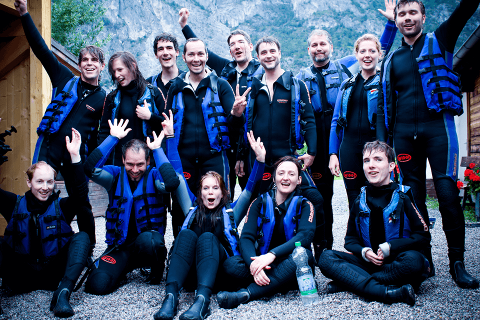 Team-Event 2012: Rafting Team visual4