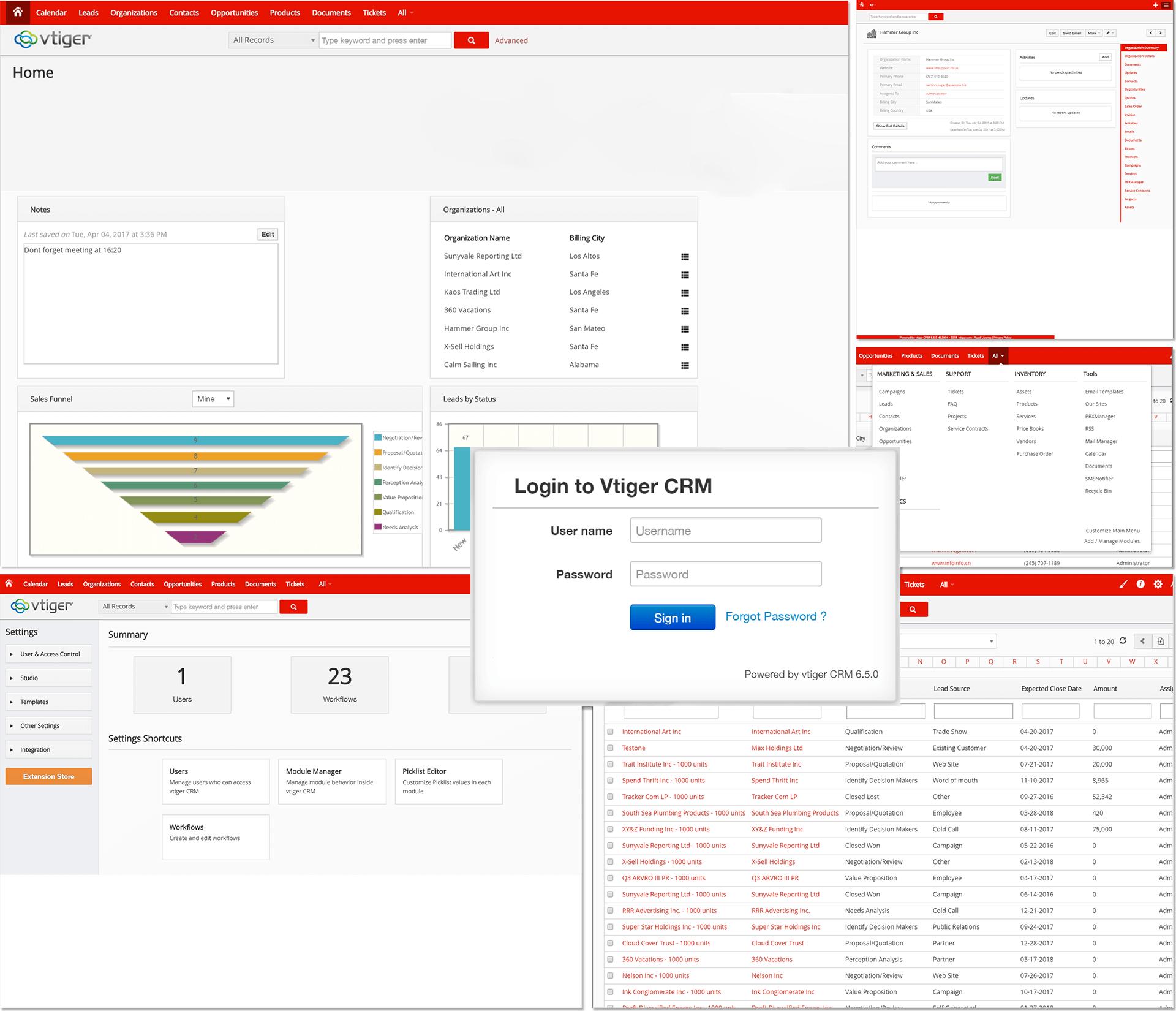 vtiger: Alle Infos zum Open-Source-CRM - visual4