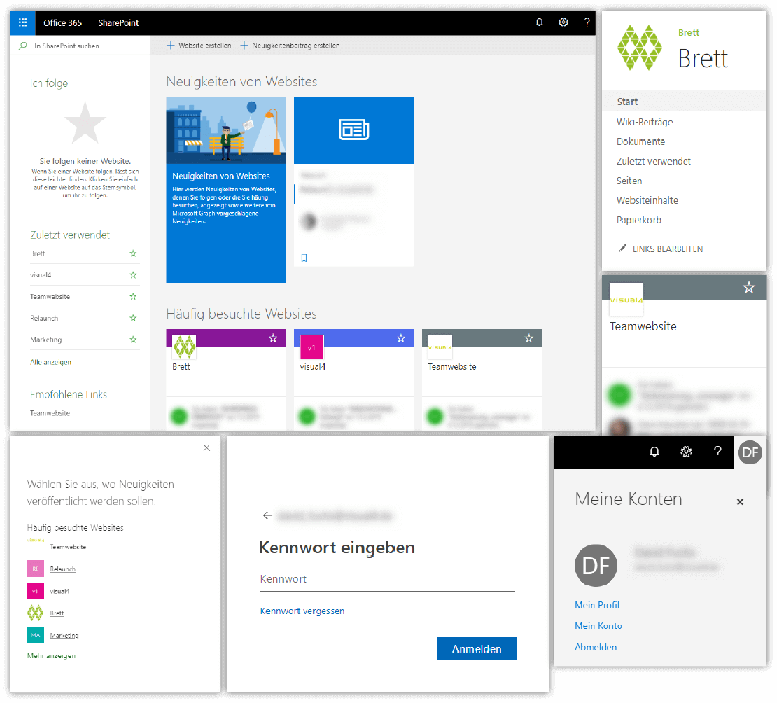 Kollaborationsplattform SharePoint