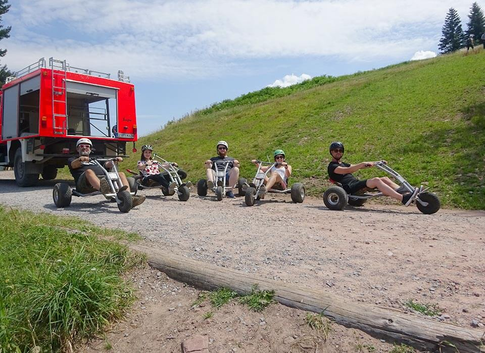 Teamevents 2019 Mountaincart